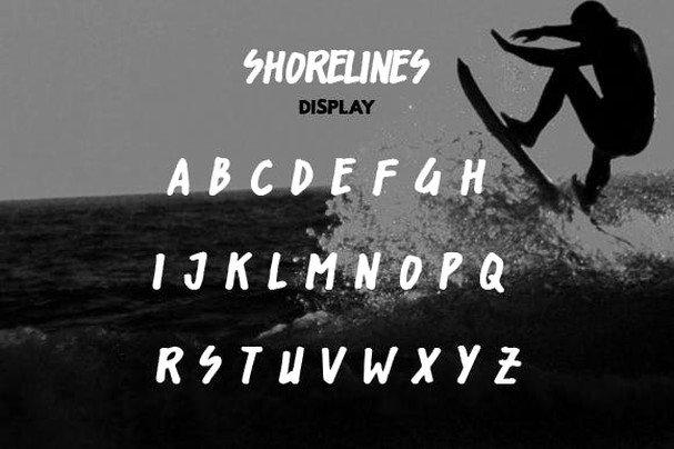 Download Shorelines Typeface font (typeface)