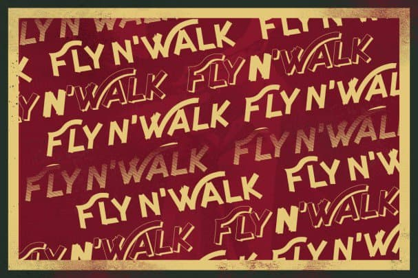 Download Fly and Walk Typeface font (typeface)