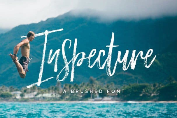 Download Inspecture Brush Font font (typeface)