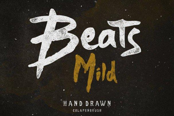 Download Beats font (typeface)
