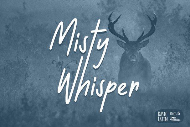 Download Misty Whisper font (typeface)