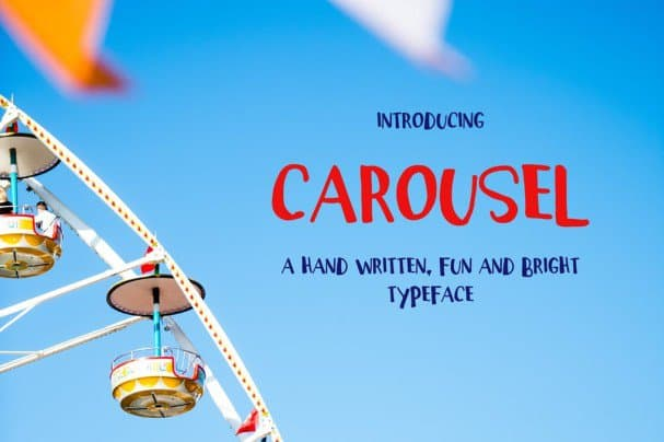 Download Carousel Typeface font (typeface)