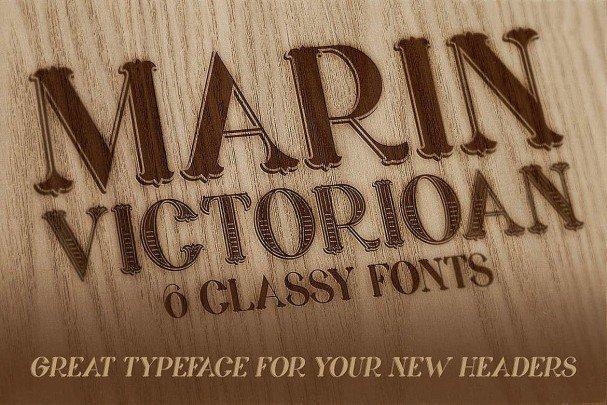 Marin - Victorian Font font free download Ⓐ AllBestFonts com