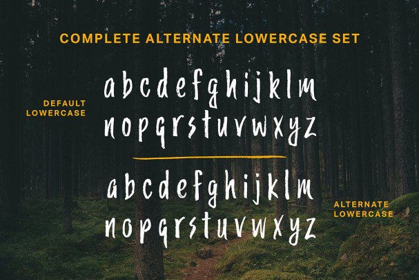 Download Trailmade Font Family font (typeface)