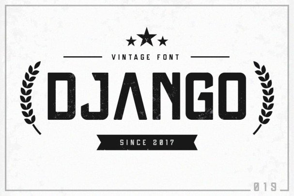 Download Django font (typeface)