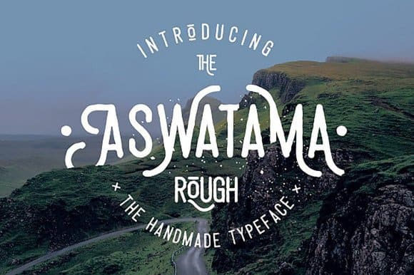 Download Aswatama Rough font (typeface)