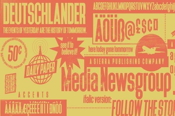 Download Deutschlander font (typeface)
