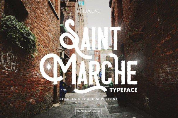 Download Saint Marche Typeface font (typeface)