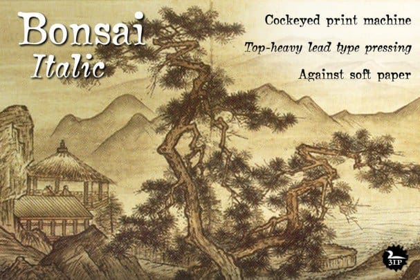 Download Bonsai font (typeface)