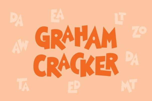 Download Graham Cracker font (typeface)