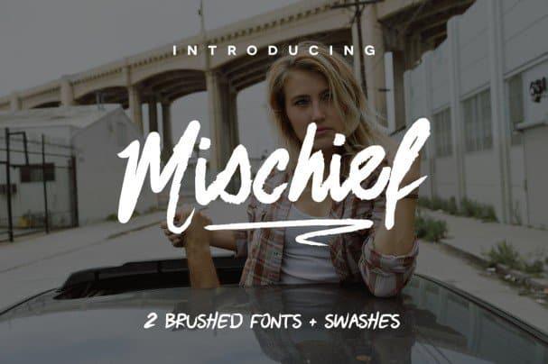 Download Mischief font (typeface)