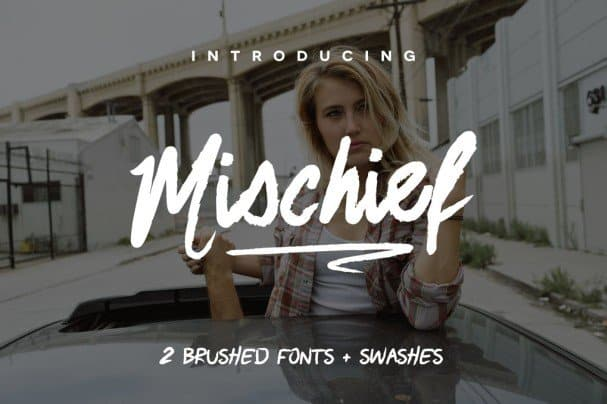 Download Mischief Font font (typeface)