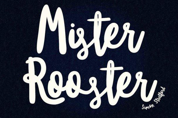 Download Mister Rooster font font (typeface)