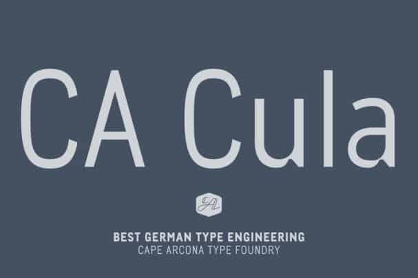 Download CA Cula Family font (typeface)