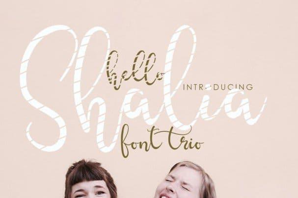Download Hello Shalia font (typeface)