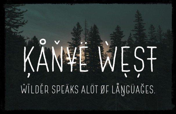 Download Wilder font (typeface)