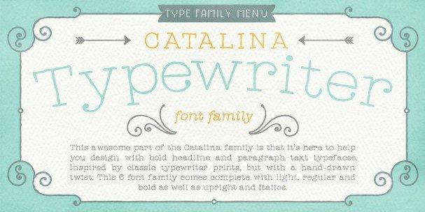 Download Catalina Anacapa font (typeface)