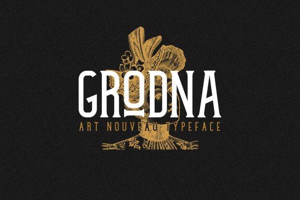 Download Grodna Font font (typeface)