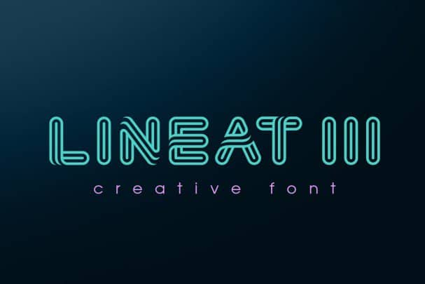 Download Lineat III font (typeface)