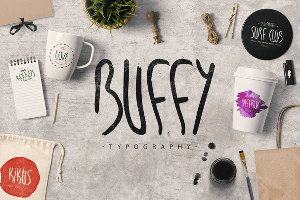 Download My name is Buffy font (typeface)