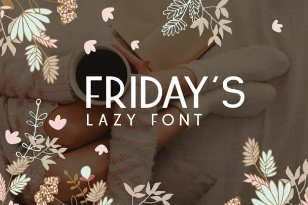 Download Friday's font (typeface)