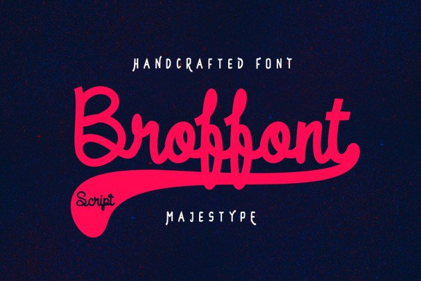 Download Broffont font (typeface)