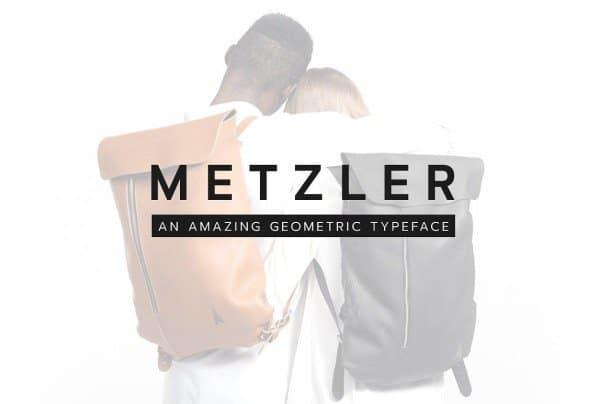 Download METZLER Minimal Sans-Serif Typeface + Web Font font (typeface)