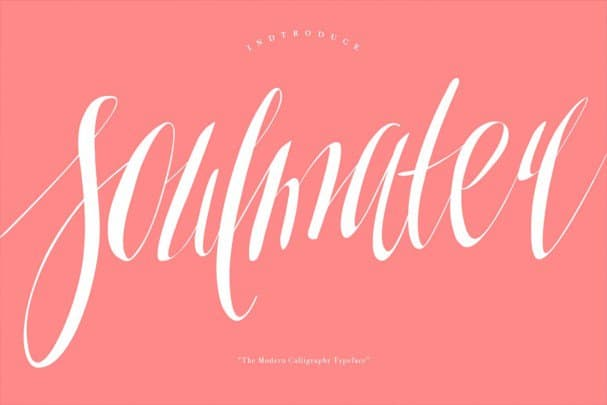 Download Soulmater Typeface font (typeface)