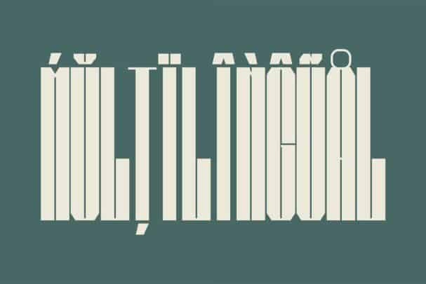 Download Bauhead Typeface font (typeface)