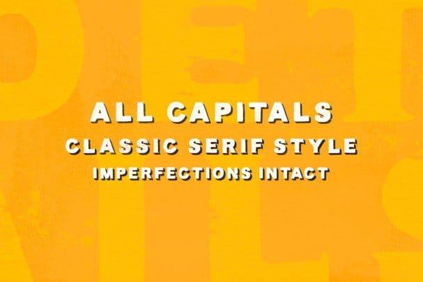 Download Lance Sans & Serif Font Duo font (typeface)