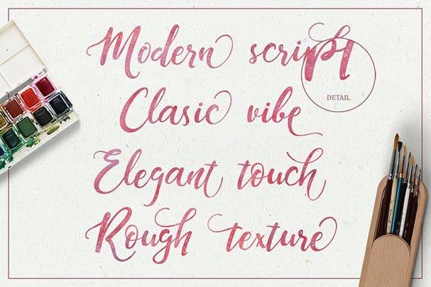 Download Dandeleón + SWASHES font (typeface)
