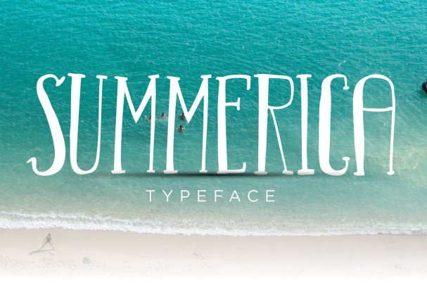Download Summerica Typeface font (typeface)