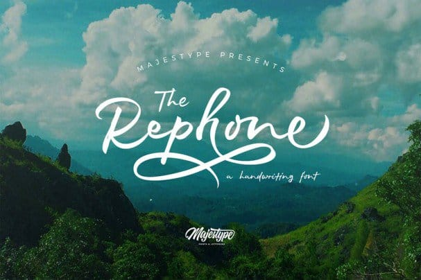 Download Rephone font (typeface)
