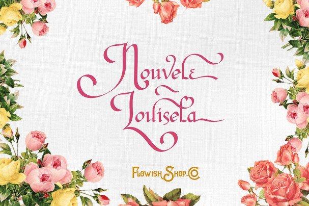 Download Nouvele Louisela font (typeface)