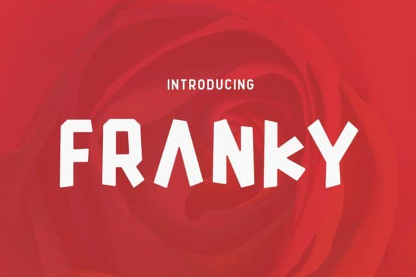 Download Franky font (typeface)