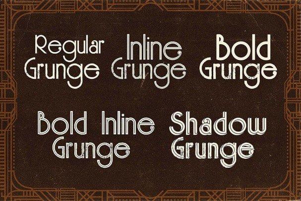 Download Skywalker - ArtDeco Typeface font (typeface)