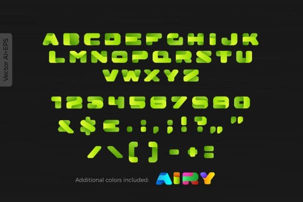 Download Airy BOX font (typeface)