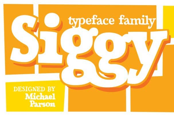 Download Siggy font (typeface)