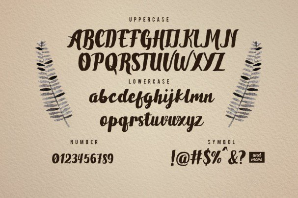 Download Brownies Typeface font (typeface)