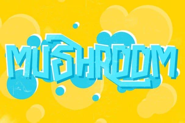 Download Mushroom Font font (typeface)