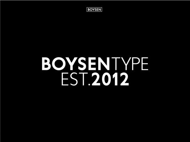 Download Boysen font (typeface)