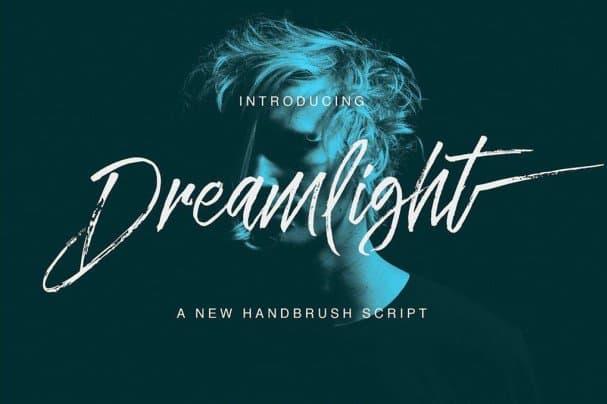 Download Dreamlight Script font (typeface)