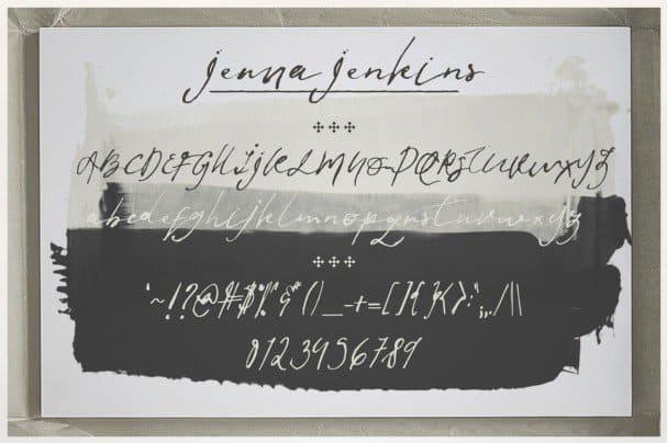 Download Jenna Jenkins font (typeface)