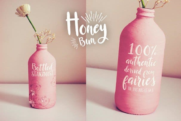 Download Honey Bun - Typeface font (typeface)