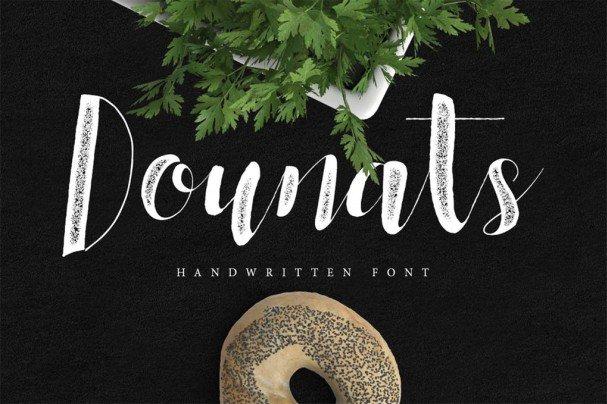 Download Dounats Typeface font (typeface)