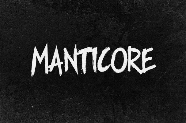 Download Manticore - Brush font (typeface)