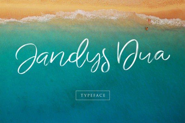 Download Jandys Typeface font (typeface)
