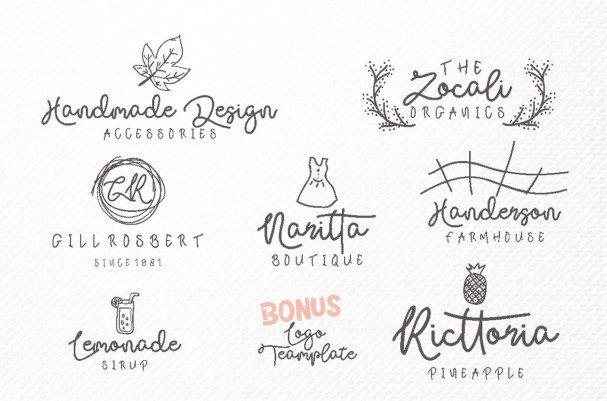 Download Sallyh Alotah & Illustrations font (typeface)