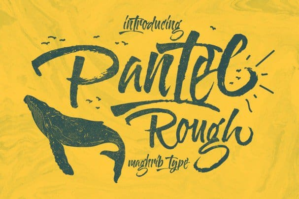 Download Pantel Rough font (typeface)