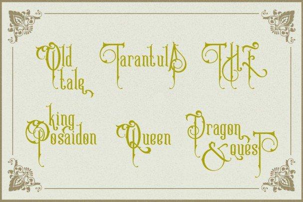 Download Victoriandeco font (typeface)